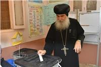 آباء وأساقفة الكنيسة يدلون بأصواتهم في الانتخابات الرئاسية