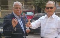 مصر تنتخب| وزير النقل السابق يدلي بصوته