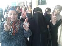 مصر تنتخب| فرحة وزغاريد وأغاني وطنية بلجان الحوامدية