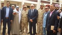 مصر تنتخب| ممثل قائد الجيش الثالث يتفقد لجنة رفاعة الطهطاوي بطور سيناء