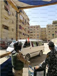 مصر تنتخب| سيارات لنقل الناخبين بالمجان في مدينة السلام