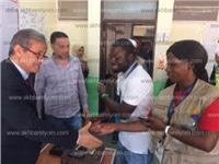مصر تنتخب| وفد إفريقي يتفقد سير العملية الانتخابية بدهب