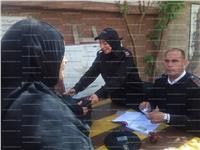 مصر تنتخب| الشرطة النسائية تتصدر المشهد الانتخابي.. صور