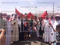 مصر تنتخب | أسرة أجنبية تشارك المصريين فرحتهم بالانتخابات الرئاسية