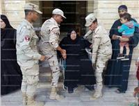 مصر تنتخب  محافظ دمياط يتفقد لجان مدينة الروضة