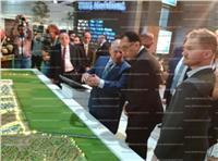 بالصور| وزير الإسكان يفتتح معرض «سيتى سكيب مصر 2018»