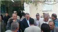 محافظ الجيزة يواصل جولاته الميدانية على اللجان الانتخابية