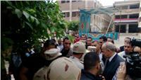 مصر تنتخب| وزير الدفاع لسيدات بنها: أنتن أحسن سيدات في العالم