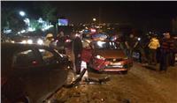 إصابة 7 في حادثين متفرقين بسبب العواصف الترابية بكفر الشيخ