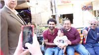 فيديو| «شبيه» محمد صلاح يثير حالة من البهجة بوسط البلد