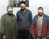 صور| ضبط عصابة سرقة كابلات «المصرية للاتصالات» بالشرقية