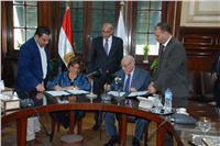 وزير الزراعة يشهد توقيع مذكرة تفاهم لنشر ثقافة الاستخدام الآمن للمبيدات