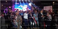 بالصور..بدء الاحتفال بفوز الرئيس في الحصري
