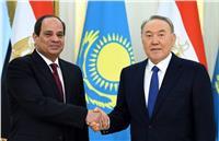 رئيس كازاخستان مهنئًا «السيسي»: شعبكم يعترف بكم زعيمًا صاحب خبرة