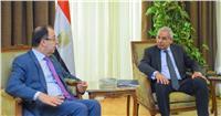 وزير الصناعة يبحث مع سفير لبنان الجديد تعزيز التعاون الاقتصادى