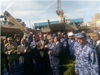 وزير النقل يشهد تدشين 4 قاطرات بحرية في ميناء الإسكندرية
