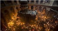 الكنائس تستعد لاستقبال النور المقدس بقبر المسيح