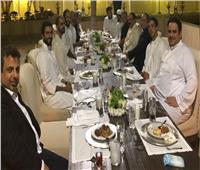 «السيسي» يشارك في مأدبة العشاء التي أقامها «بن سلمان» لعدد من القادة العرب