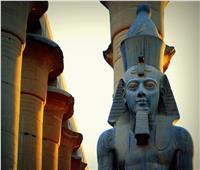 إزاحة الستار عن تمثال رمسيس الثاني الجديد بمعبد الأقصر