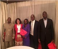 سفيرة مصر في بوروندي تدعم «الجندي» لرئاسة البرلمان الأفريقي