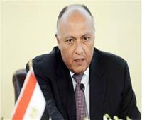 سامح شكري يغادر مطار القاهرة للمشاركة باجتماعات الاتحاد الأفريقي