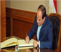 الرئيس السيسي يصدر قرارا جمهوريا جديدا