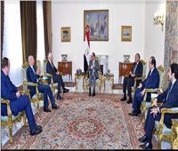 الرئيس يستقبل المبعوث الأممي في سوريا