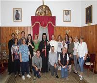 صور|بطريرك الأقباط الكاثوليك يستقبل الوفد المجري لزيارة مسار العائلة المقدسة