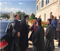 البطريرك بشارة الراعي يستقبل البابا تواضروس بكركي