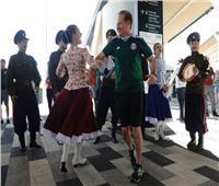 روسيا 2018| وصول جماهير كوريا والمكسيك ملعب المباراة ..صور