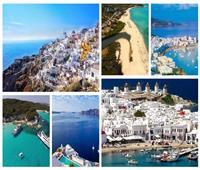 صور|8 جزر يونانية ساحرة تجمع بين الاستجمام والمرح.. تعرف عليها