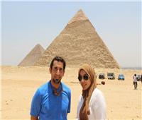 فيديو| «عمر الحجيلان»: حلمي تحقق بالقفز من فوق الأهرامات