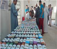 265 نظارة طبية من مبادرة «عنيك في عنينا» لأهالي الحجر بالفيوم