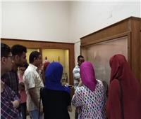 تفعيل أولى محاضرات تدريب متطوعي العمل داخل متحف كوم أوشيم
