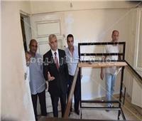 نائب رئيس جامعة المنوفية يتابع أعمال الصيانة بالمدن الجامعية