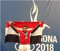 محمد إيهاب يحرز ذهبيته الثانية في رفع الأثقال بدورة ألعاب البحر المتوسط