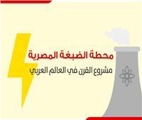 بالانفوجراف| محطة الضبغة المصرية مشروع القرن في العالم العربي
