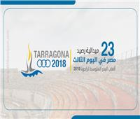 إنفوجراف| 23 ميدالية لمصر بـ«ألعاب البحر المتوسط» في 3 أيام