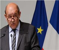 وزير خارجية فرنسا يصل القاهرة للقاء الرئيس السيسي
