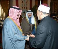 ولي عهد الكويت يعزي شيخ الأزهر في وفاة شقيقته