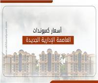 إنفوجراف|مقارنة بين أسعار وزارة الإسكان وكمبوندات العاصمة الإدارية