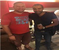 محمد عدويه ينتهي من تسجيل أغنية «مختارتش حاجه» لفيلم «سوق الجمعة»