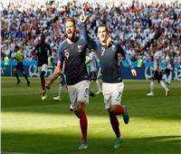 روسيا 2018| جريزمان يعادل رقم زين زيدان بعد مباراة الأرجنتين