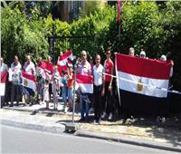 فيديو وصور| احتفالات المصريين في بروكسل بذكرى ثورة 30 يونيو