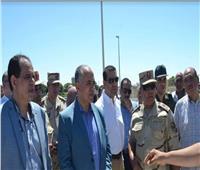 «عبد العاطي» و«الوزير» يتفقدان مشروع القنطرة الجديدة بأسيوط