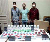 ضبط المتهمين بسرقة مندوب شركة أدوات كهربائية في الدقي