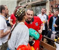 روسيا 2018 | شاهد أجواء حماسية قبل مباراة كولومبيا وإنجلترا.. صور