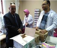 الكشف على 1900 مريض في قافلة طبية مجانية بالإسكندرية
