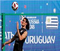روسيا 2018  كافاني يعود لتدريبات أوروجواي.. وفرص مشاركته أمام فرنسا «ضئيلة»