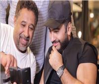 فيديو| كواليس فيديو كليب «وأنت معايا» لتامر حسني والشاب خالد